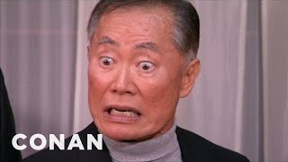 Come Out As Gay With George Takei - CONAN on TBS