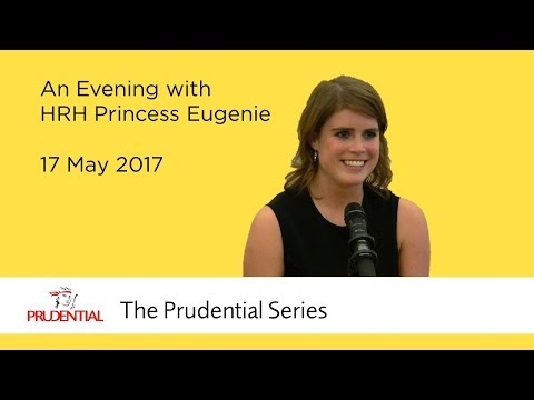 An Evening with HRH Princess Eugenie