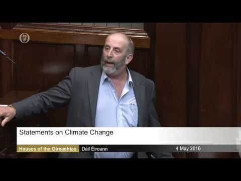 Irish Politician Disputes Climate Change, Says