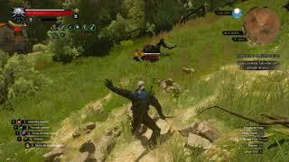 Geralt VS Aranhas