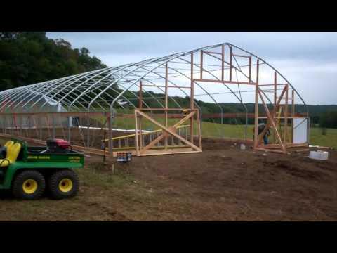 High Tunnel Construction @ Lizonberry Farms.mp4