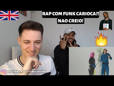 ONDA DIFERENTE🔥🔥 Anitta Ludmilla & Snoop Dogg ft Papatinho  REACT  Harry & Tremaine