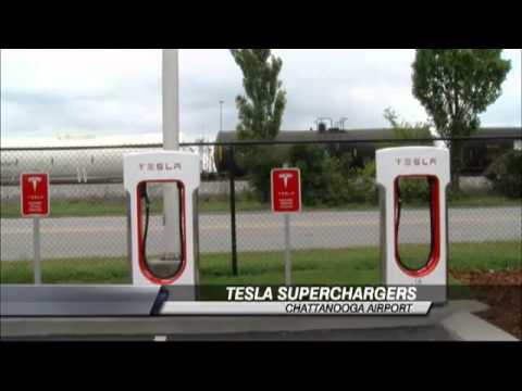 Tesla Electric Car Charging Stations Now at Ch