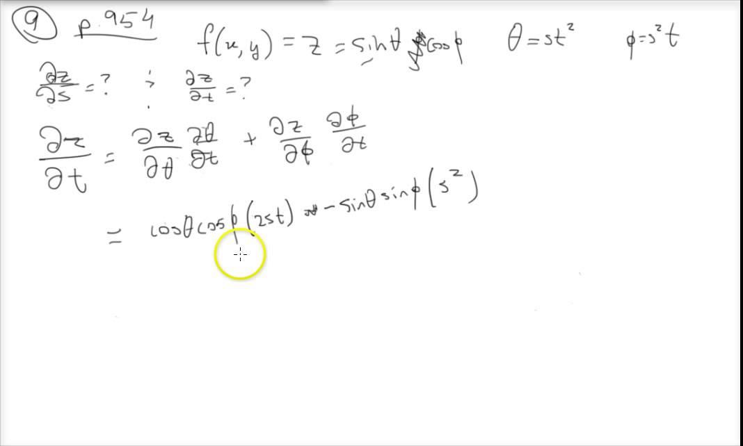 chain rule multivariable calculus
