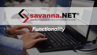 Savanna.NET® WES Functionalities