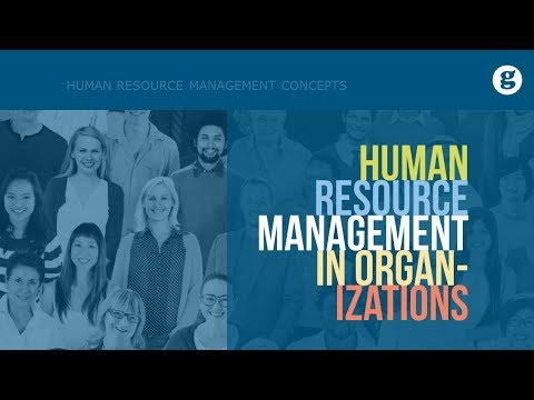 Human Resource Management In Organizations