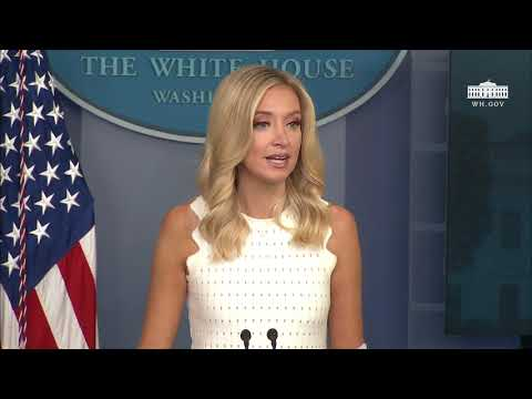 The White House: 07/09/20 Press Secretary Kayleigh McEnany Holds a Briefing