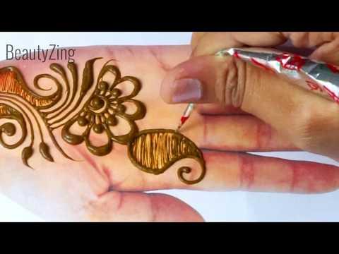 New Easy Stylish Mehndi Design for Hand - EID Special Mehndi Design 2019 - आसान मेहँदी डिज़ाइन