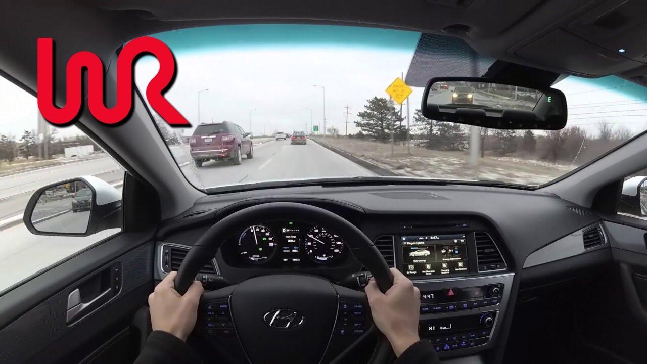 2017 Hyundai Sonata Plug In Hybrid Wr Tv Pov Test Drive
