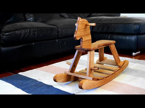 How To Make A Wood Rocking Horse | Woodworking