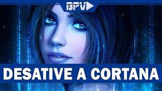Como AUMENTAR o DESEMPENHO do PC Desativando a Cortana!
