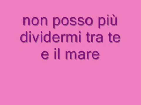 Laura Pausini - Tra Te E Il Mare (lyrics. testo)