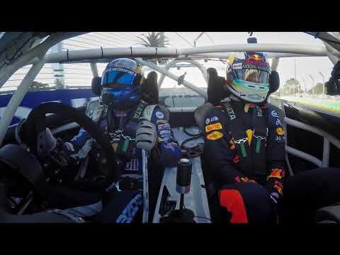 Daniel Ricciardo & 'Mad' Mike drift into Formula 1 2018 Rolex Australian Grand Prix