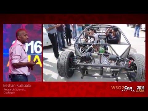 WSO2Con Asia 2016 - Keynote: Vega High Performance Electric Car