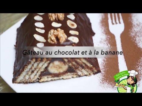 gâteau-au-chocolat-et-à-la-banane