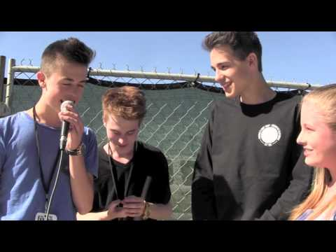Jacob Whitesides, Dylan Holland, and Grant Landis Interview