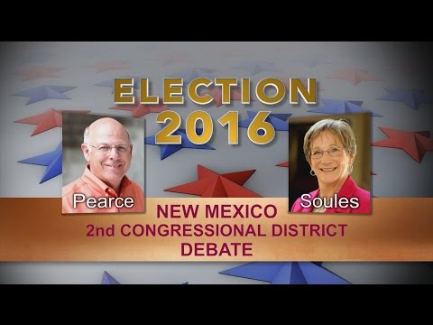 Election 2016 Debate - NM 2nd Congressional District