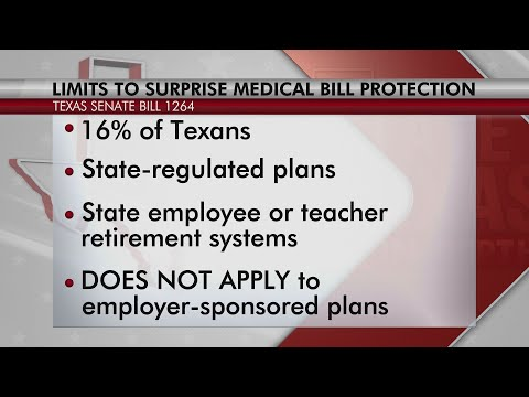 Limits to law preventing surprise bills