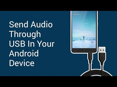 How to Send Audio Through USB In Your Android Device