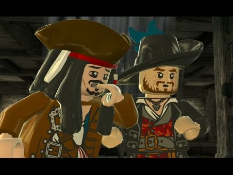 LEGO Pirates of the Caribbean - 100% Guide #12 - Davy Jones' Locker (All Collectibles)