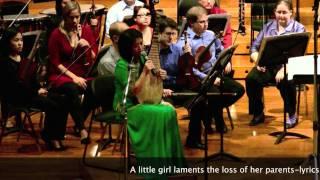 """""""小白菜"""" 'Little Cabbage (Xiao Bai Cai) Zhou Yi-singer Prairie Ensemble"""