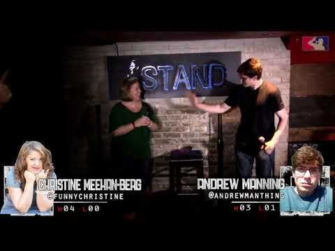 The RoastMasters Spring Tournament 5.15.18: Christine Meehan-Berg vs. Andrew Manning