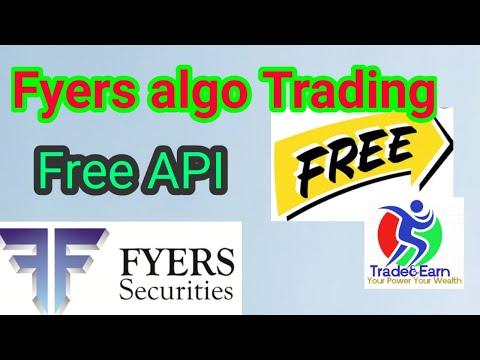 Fyers AlgoTrading  Fyers API for Free