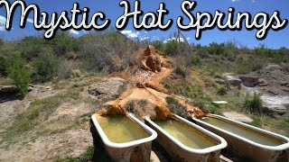 MYSTIC HOT SPRINGS TOUR! MONROE, UTAH. VLOG: 216