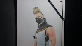 DRAWING SKIN DRIFT FROM FORTNITE/ DRAWING SKIN DERIVED FROM FORTNITE