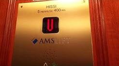 2016 AmsLift Highdraulic Elevator @ Mariankatu 24B, Kruununhaka, Helsinki, Finland