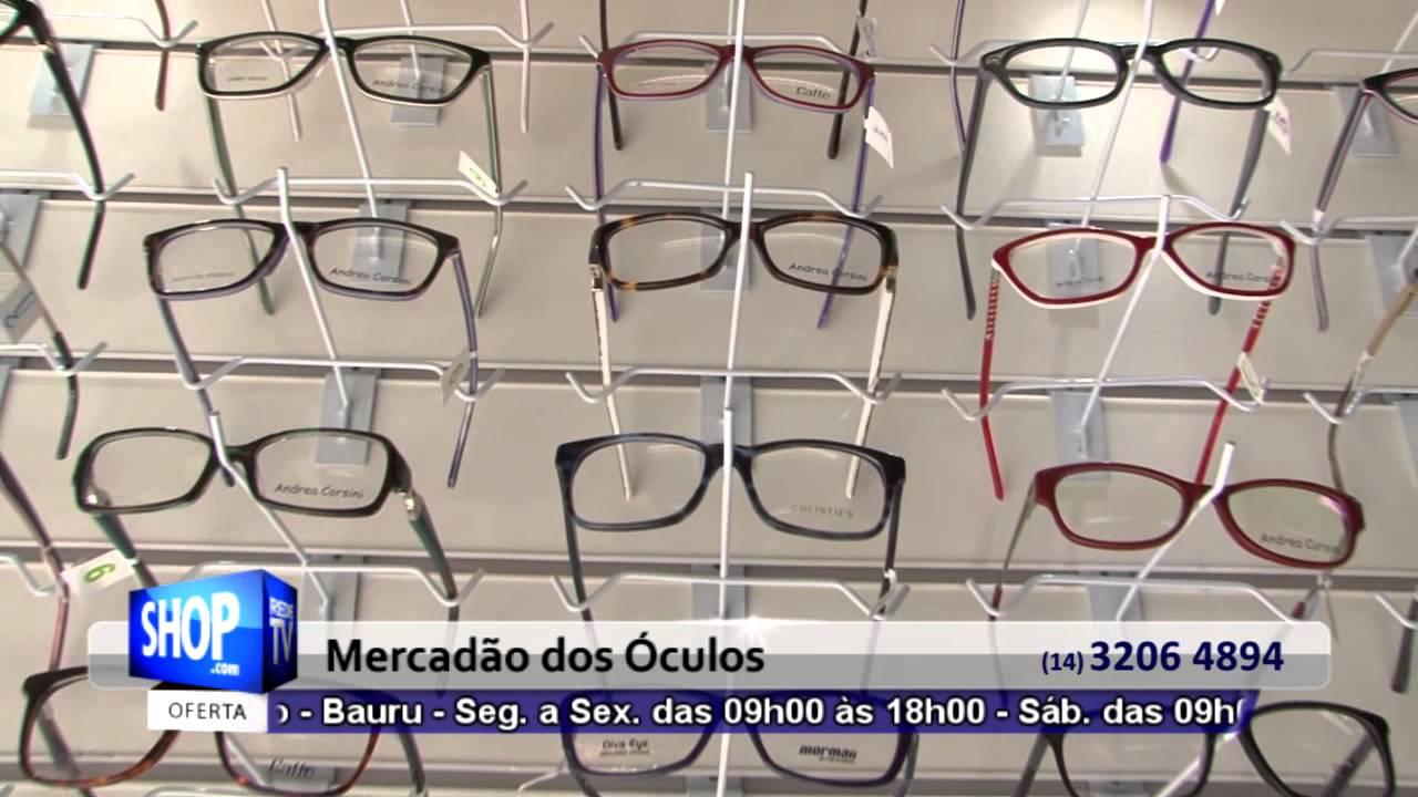OCULOS SOLAR E ARMACOES EM BAURU - MERCADAO DOS OCULOS - S 25 - YouTube 0079b4c11b