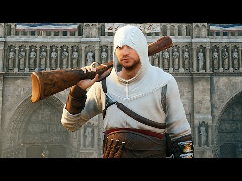 Assassin's Creed Unity Stealth with Altair`s Outfit