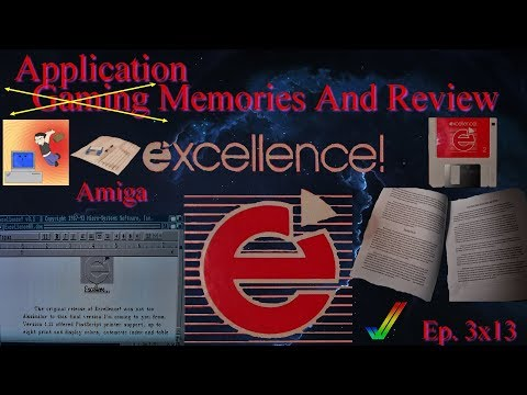 Excellence! - Amiga Word Processor - Gaming (Application) Memories and Review