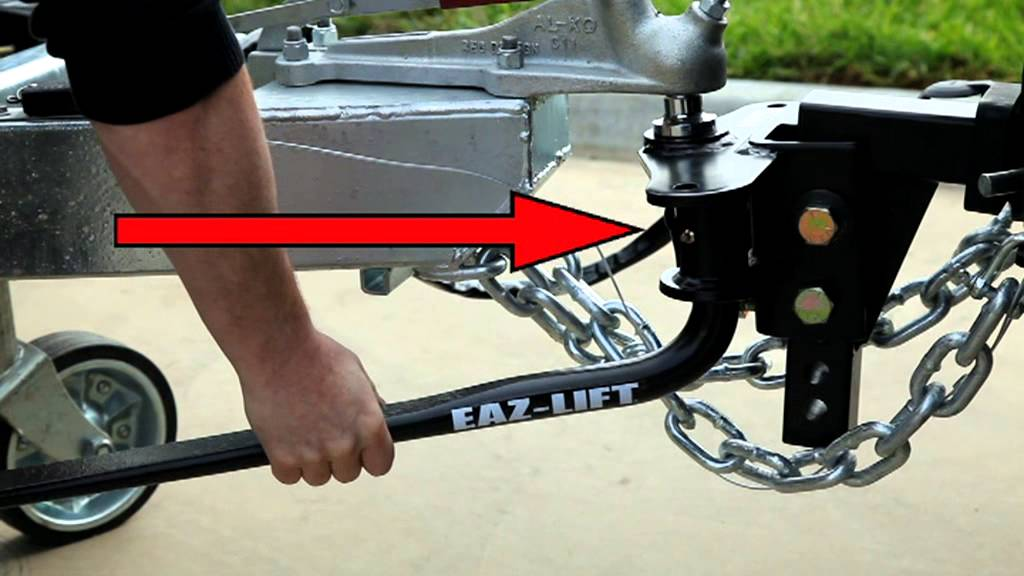 Eaz Lift Load Distribution Hitch - YouTube