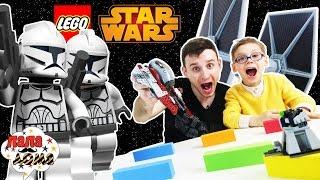Папа Макс и Елисей чинят корабль #LEGO Звездные войны Star Wars!