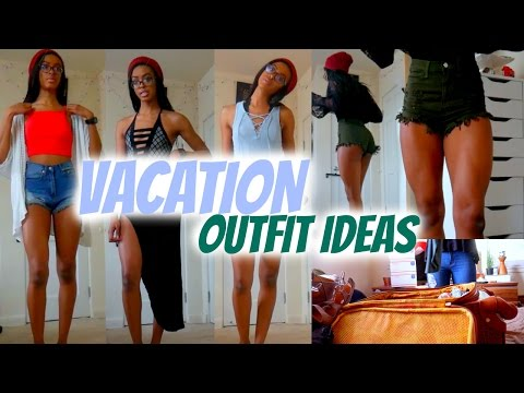 PACKING FOR FLORIDA: What I Brought | Vacation Outfit Ideas • Lawenwoss