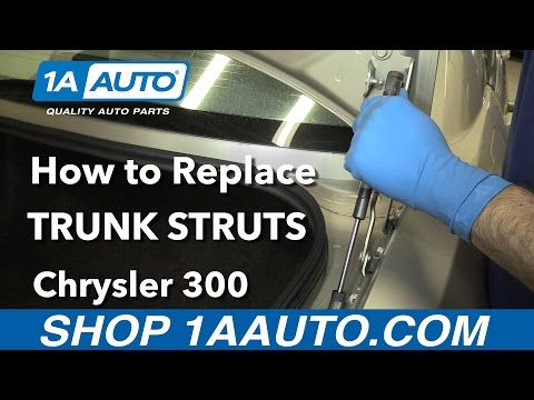 How to Replace Install Trunk Struts 2006 Chrysler 300 Buy Quality Auto Parts from 1AAuto.com