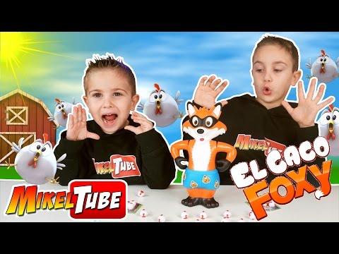 Jugamos a EL CACO FOXY ! Un divertido Juego de Mesa