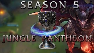 Season 5 New Jungle Gameplay (Pantheon) - League of Legends PBE