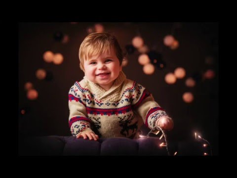Mastering Portrait Photography: Christmas Lights Portrait