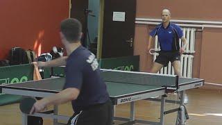 Владислав КУЦЕНКО vs Павел ЛУКЬЯНОВ, Турнир Master Open, Настольный теннис, Table Tennis