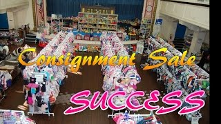 Baby Consignment Sale Shopping