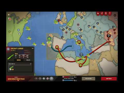 Axis and Allies 1942 Online: Recovering from a bad opener #3 |