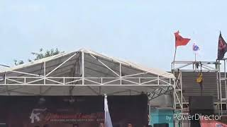 Chant persija - sampai kapan, konser The Jak Mania Bantu Palu