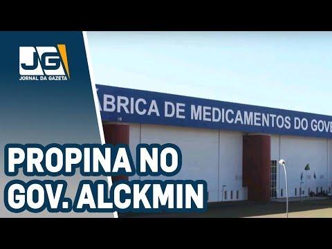 Empreiteira revela propina no governo Alckmin
