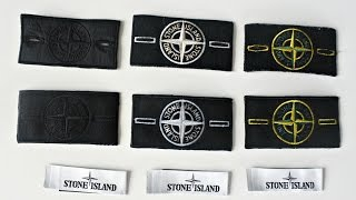 I bought FAKE STONE ISLAND BADGES FROM EBAY | FAKE VS REAL