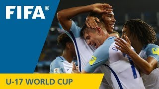 Watch highlights of the Group F match between England and Iraq at t...