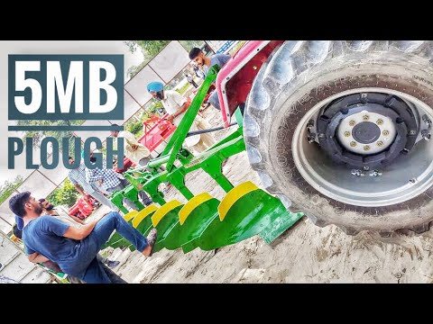 5MB Plough checking with Arjun 555 power plus