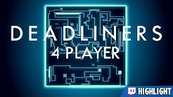 Deadliners - Multiplayer Snake! [Twitch Highlight]