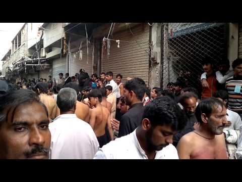 Azadaari 10 muharam mean bazaar daska